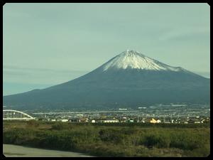 今年は富士をよく見ました